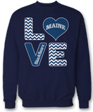 Stacked Love - Maine Black Bears