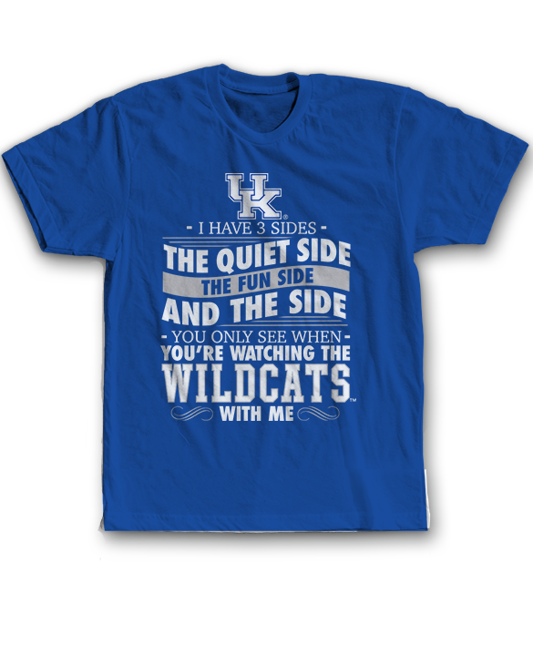 I Have 3 Sides - Kentucky Wildcats