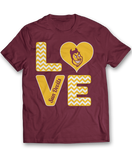 Stacked Love - Arizona State Sun Devils