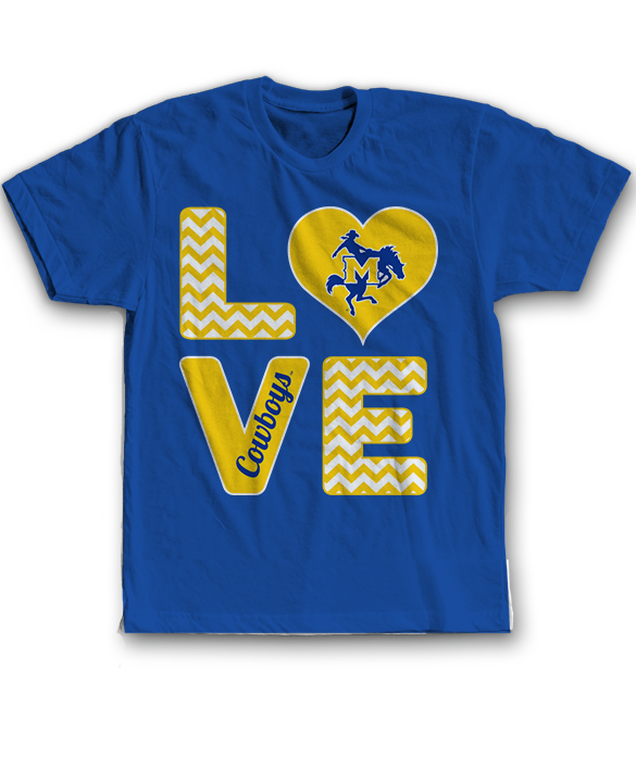 Stacked Love - McNeese State Cowboys