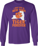 May Live In Texas But Tiger Forever - Clemson Tigers