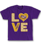 Stacked Love - LSU Tigers