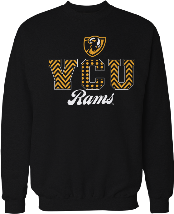 Patterned Letters - Virginia Commonwealth Rams