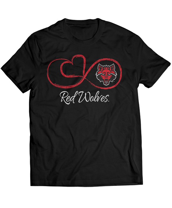 Infinite Heart - Arkansas State Red Wolves
