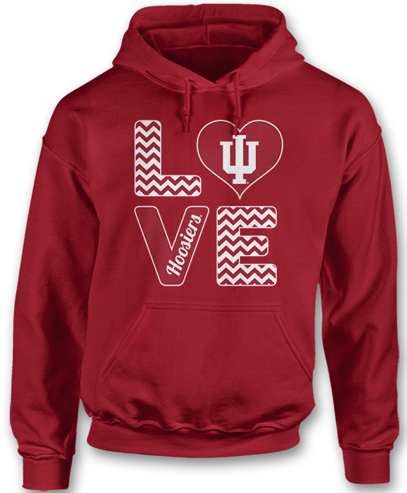 Stacked Love - Indiana Hoosiers