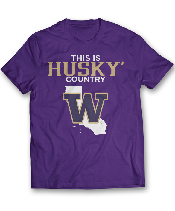 This Is Husky Country - CA - Washington Huskies