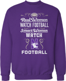 Real Women Watch Football, Smart Women Watch - Northwestern Wildcats