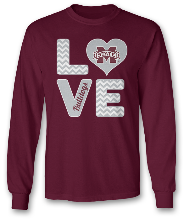 Stacked Love - Mississippi State Bulldogs
