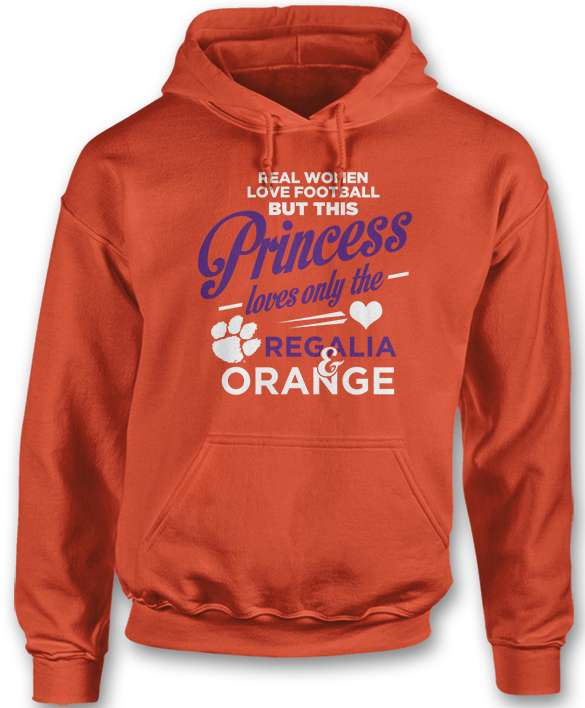 This Princess Loves Only The - Clemson Tigers
