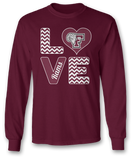 Stacked Love - Fordham Rams