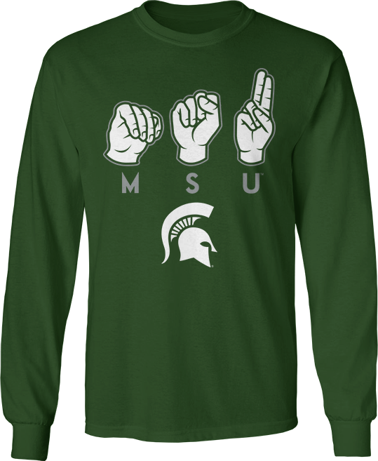 Team Sign Language - Michigan State Spartans