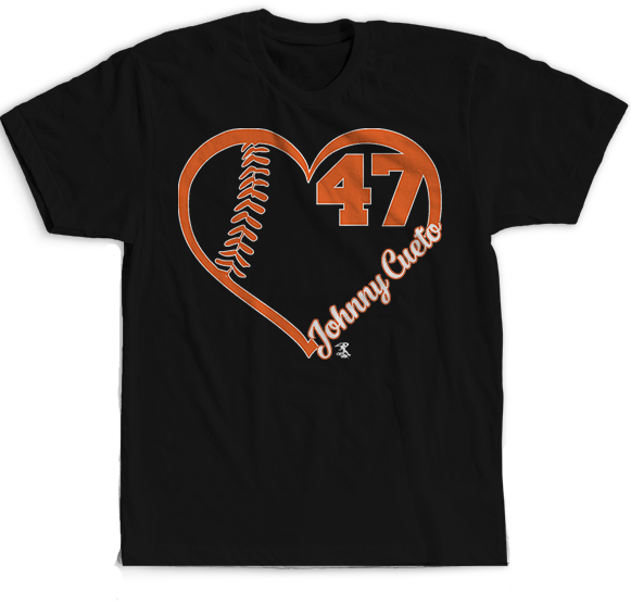 My Heart Number - Johnny Cueto