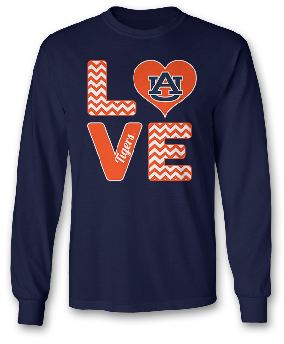 Stacked Love - Auburn Tigers