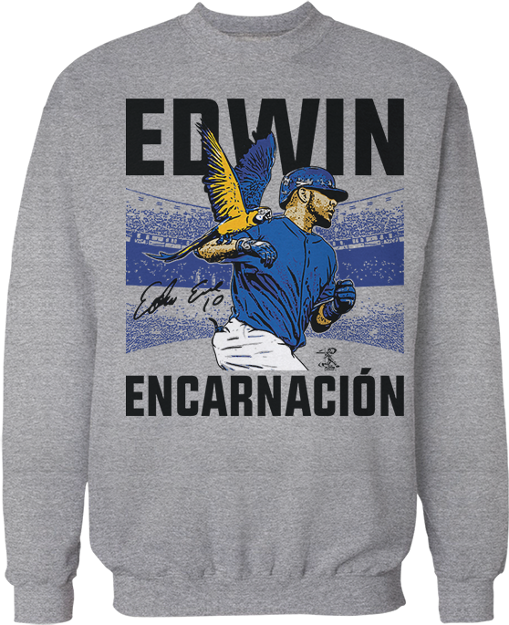 Walking The Parrot - Edwin Encarnacion