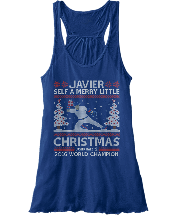 Javier Self A Merry Little Christmas (Ugly Christmas Sweater) - Javier Baez