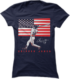 Flag Baseball - Chipper Jones