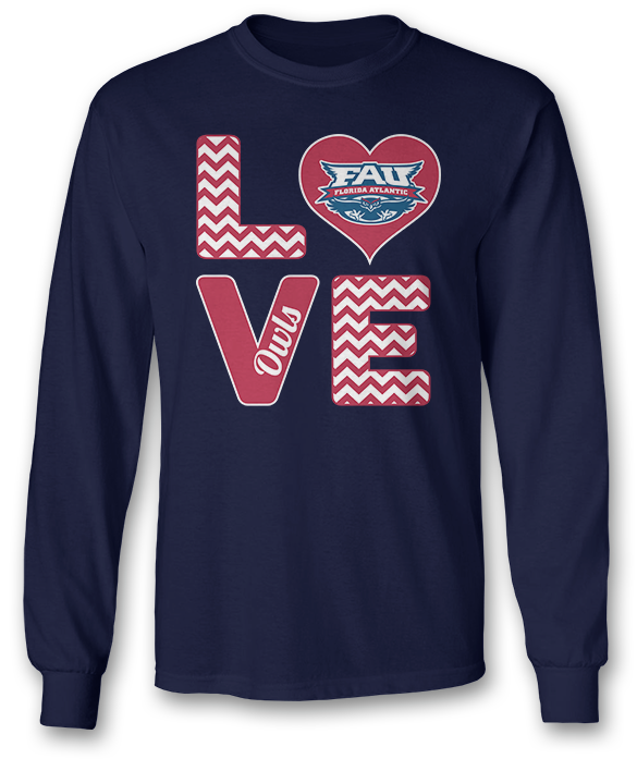 Stacked Love - Florida Atlantic Owls