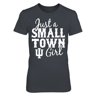 Indiana Hoosiers - Just A Small Town Girl - T-Shirt - Officially Licensed