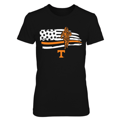 Tennessee Volunteers - Firefighter - Firefighter Inside Distre... - T-Shirt - Official