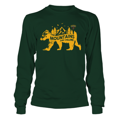 Baylor Bears - The Mountains Are Calling - Bear - T-Shirt - Officially Licensed