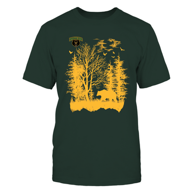 Baylor Bears - Mascot In The Wood - Bear - T-Shirt - Officially Licensed Apparel