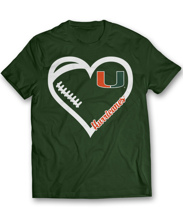 My Heart Team - Miami Hurricanes