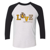 Wyoming Cowboys - Love My Team - Pattern Apple - T-Shirt - Officially Licensed