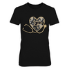 Purdue Boilermakers - Heart Stethoscope - P... - T-Shirt - Official