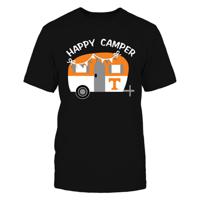 Tennessee Volunteers - Camping - Vintage Camping Car - T-Shirt - Official