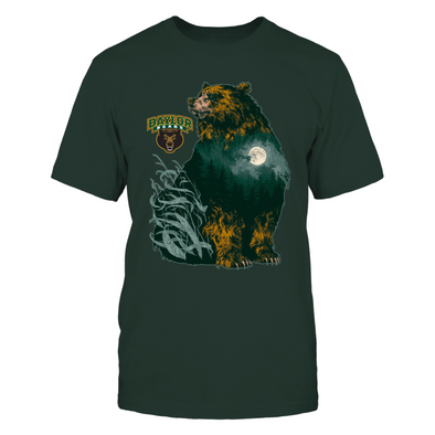 Baylor Bears - Into The Woods Bear - T-Shirt - Officially Licensed Apparel