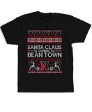 Santa Claus Is Coming To Bean Town (Ugly Christmas Sweater) - Northeastern Huskies