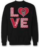 Stacked Love - NC State Wolfpack