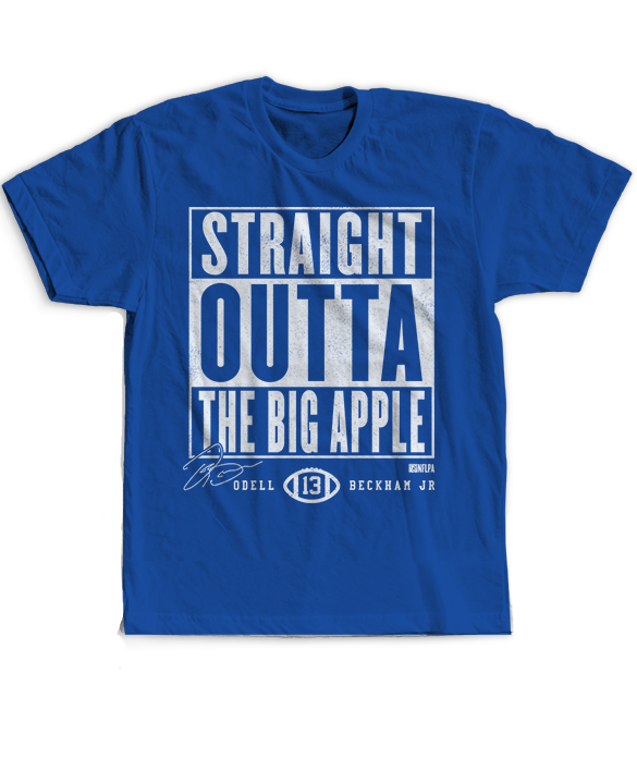 Straight Outta - Odell Beckham Jr.