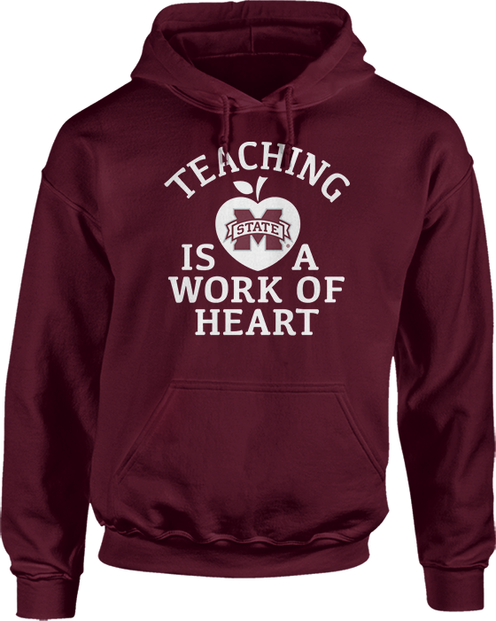 Teaching Is A Work Of Heart - Mississippi State Bulldogs