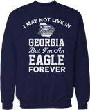 May Not Live There But Fan Forever - Georgia Southern Eagles