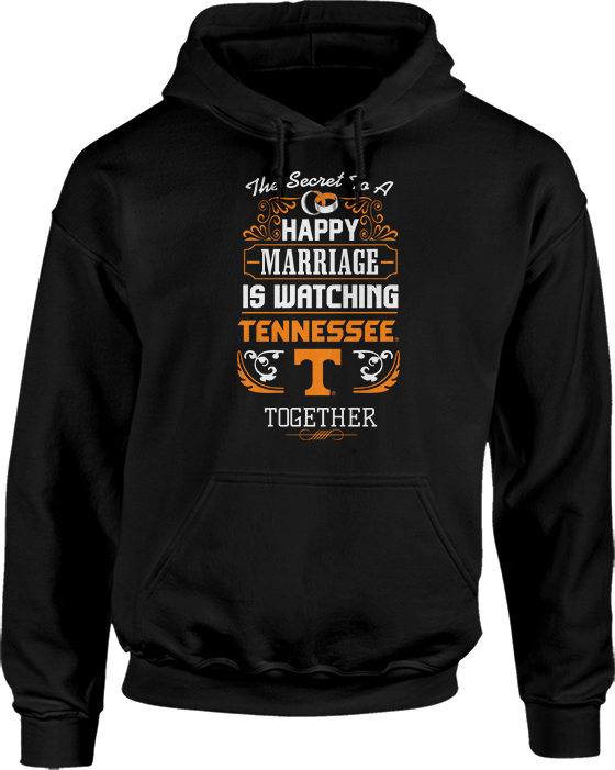 Secret To A Happy Marriage Is Watching - Tennessee Volunteers
