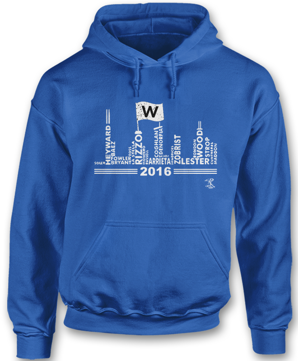 Fly The W Skyline - Anthony Rizzo