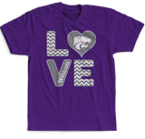 Stacked Love - Kansas State Wildcats