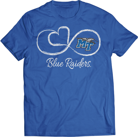 Infinite Heart - Middle Tennessee State Blue Raiders