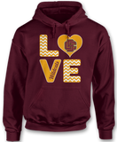 Stacked Love - Bethune-Cookman Wildcats