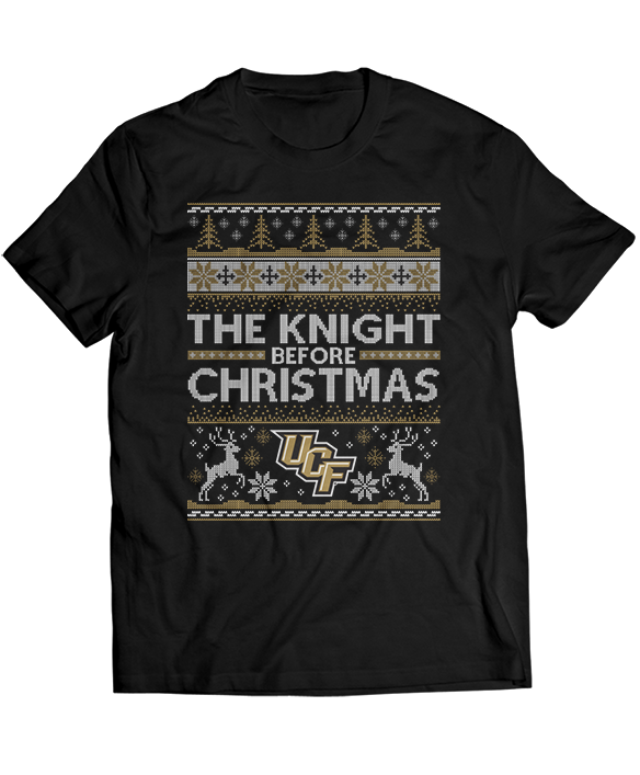 The Knight Before Christmas (Ugly Christmas Sweater)  - UCF Knights