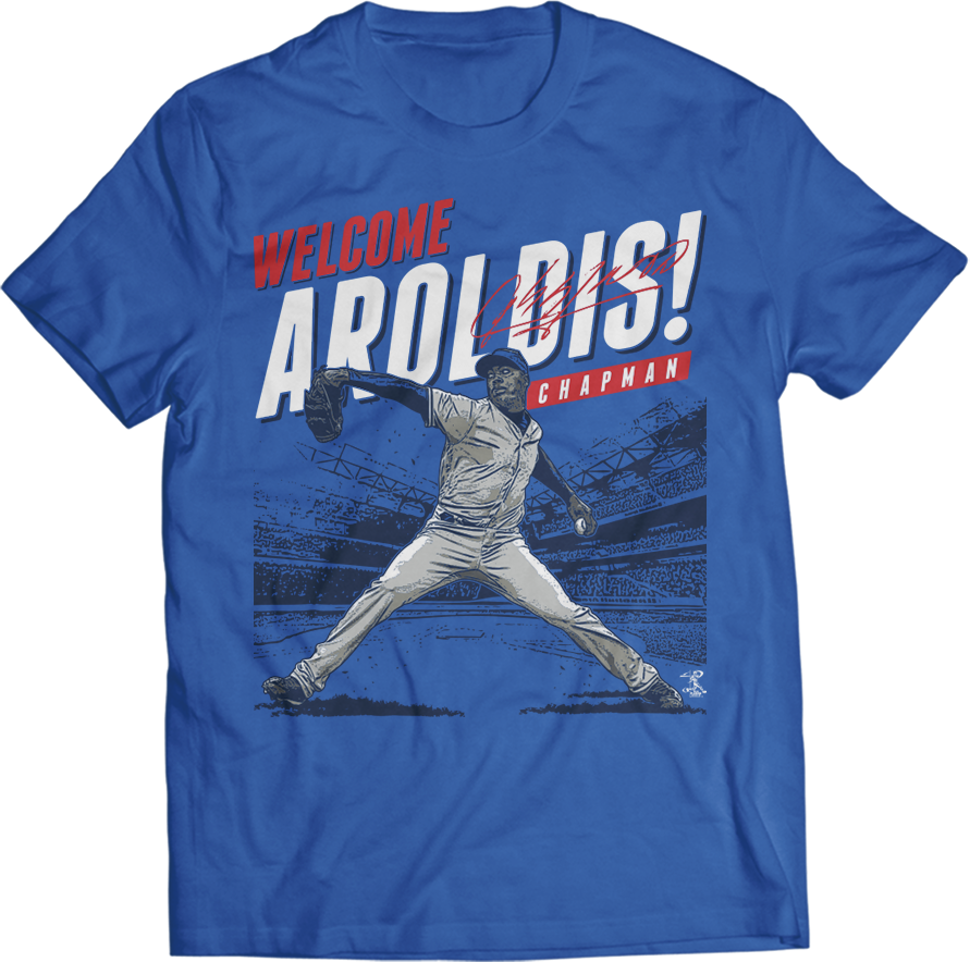 Welcome Aroldis Chapman!