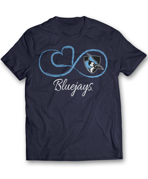 Infinite Heart - Johns Hopkins Blue Jays