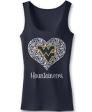 Lace Logo - West Virginia Mountaineers