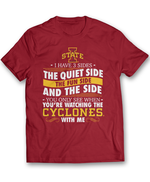 I Have 3 Sides - Iowa State Cyclones