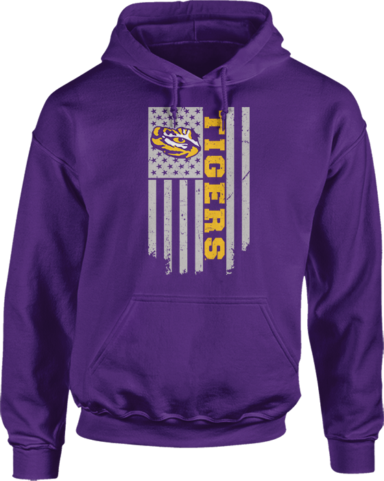 Show Your Pride Flag - LSU Tigers