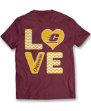 Stacked Love - Central Michigan Chippewas