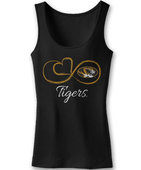 Infinite Heart - Mizzou Tigers