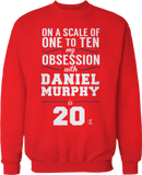 My Obsession From 1 to 10 With Daniel Murphy is 20