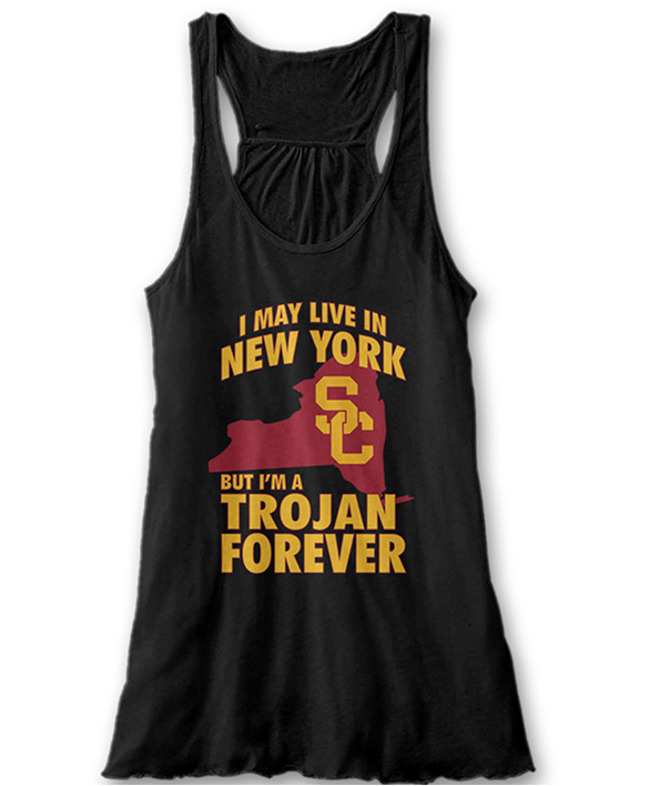 May Live In New York But Trojan Forever - USC Trojans